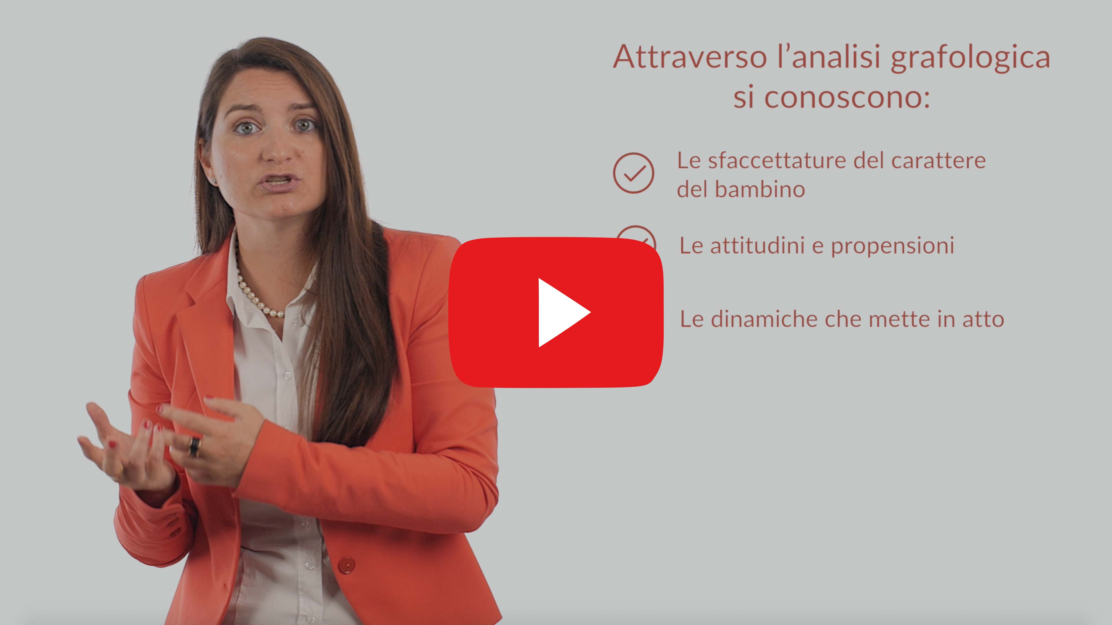 L'analisi grafologica per il bambino video Youtube Grafologia360