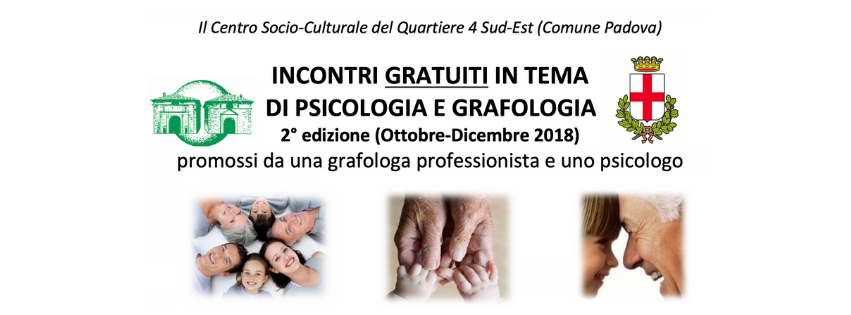 Incontri di grafologia e psicologia di Grafologia360 2 edizione
