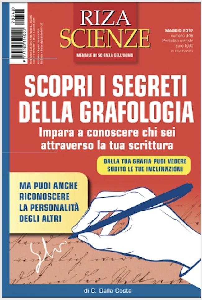 libro sulla grafologia di Grafologia360 e Riza scienze
