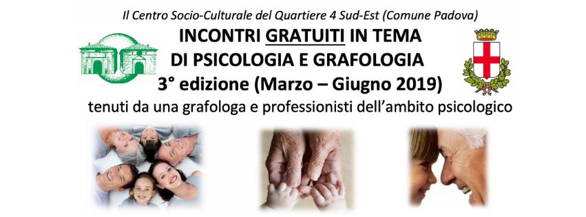 Ciclo conferenze di grafologia e psicologia, 3 edizione di Grafologia360
