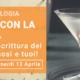 Apericena con la grafologa Chiara Dalla Costa di Grafologia360 a Limena Padova
