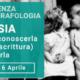 Locandina conferenza di grafologia e psicologia sulla gelosia di Grafologia360 a Padova