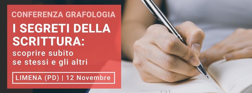 conferenza gratuita sulla grafologia di Grafologia360 il 12 novembre