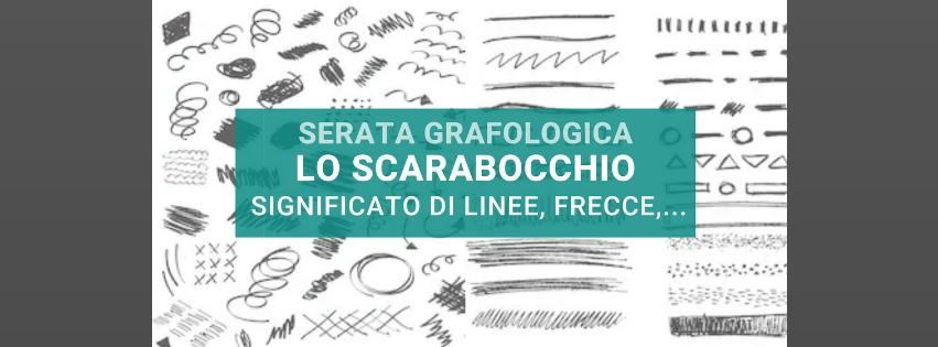 Scarabocchio linee, frecce nell'evento di grafologia di Grafologia360