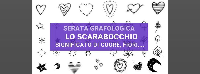 Significato scarabocchio cuore e fiori nell'evento di grafologia di Grafologia360
