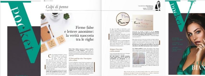 Firme false e lettere anonime spiegate da Grafologia360 su VPocket magazine